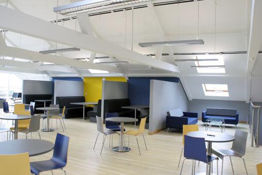 Architect Belfast renovation canteen